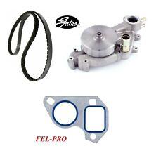 GATES Water Pump & Serpentine Belt &Gasket For CHEVROLET CORVETTE V8 6.2L 2008