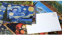 30pcs/Box Famous Van Gogh Paintings The Starry Night Sunflowers Posters Postcard
