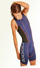 Sundried Womens Premium Padded Triathlon Tri Suit Compression Duathlon ...