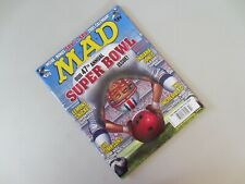 FEB 2005 #450 MAD MAGAZINE - SUPER BOWL Indiana Jones Simpsons Incredibles M1261