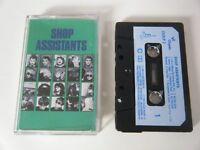 SHOP ASSISTANTS S/T SELF TITLED ALBUM CASSETTE TAPE 1986 PAPER LABEL CHRYSALIS