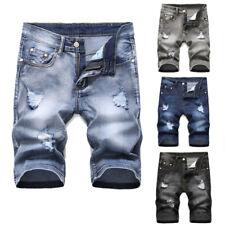 Men Short Pants Denim shorts Short Jeans Destroyed Pant Skinny jeans Frayed Pant