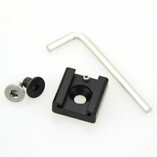 """DIY Fitting Hot Cold Shoe Mount Adapter with 1/4"""" Screw for Camera Cage Bracket"""