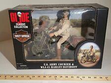 GI Joe 12in Army Courier WLA 45 Harley Davidson 35 Anniversary 1998 MIB #2