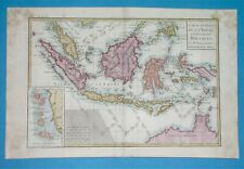 1780 ORIGINAL MAP MALAYSIA INDONESIA SINGAPORE BRUNEI PAPUA NEW GUINEA AUSTRALIA