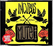 INCUBUS - TALK SHOWS ON MUTE - ENHANCED CD SINGLE + POSTER - MINT
