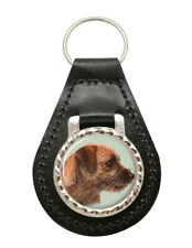 DAD-12MBO Border Terrier Dog /'Love You Dad/' Chrome Metal Bottle Opener Keyring