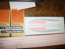HARLEY DAVIDSON - 1972 XL SPORTSTER SPARKLING AMERICA  GAS TANK & FENDER DECALS