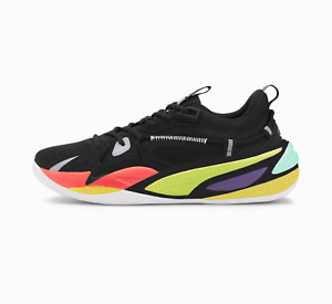 Puma RS Dreamer OG J Cole Basketball Black Yellow Green Nrgy Red 193990_03