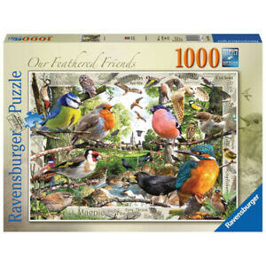 Ravensburger 1000 Piece Jigsaw Puzzle Our Feathered Friends Birds 69 x 49cm
