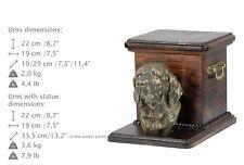 Fila Brasileiro, dog urn made of cold cast bronze,ArtDog,Usa-kind2