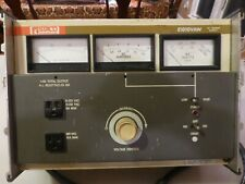 STACO E1010VAW VOLT AMP WATT METER BENCH VARIAC AC POWER SOURCE ADJUSTABLE
