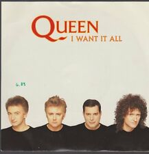 """7"""" Single Queen I Want It All / Hang On In There 80`s EMI Electrola"""