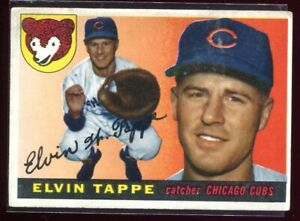 1955 Topps 129 Elvin Tappe Rookie