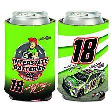 Kyle Busch 2017 Wincraft #18 Interstate Batteries Can Coolie Free Ship