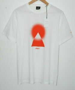 PAUL SMITH + CHEMICAL BROTHERS white red Tshirt T-shirt Mount Fuji Japan XL