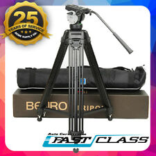 Benro KH25N  Camcorder Aluminium Video Camera Tripod head fluid Kit For Canon