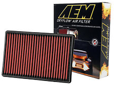 AEM 28-20247 STOCK REPLACEMENT WASHABLE REUSABLE PANEL AIR FILTER [MADE IN USA]