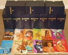 JANUARY 1970 - DECEMBER 1979 PLAYBOY MAGAZINE COMPLETE DECADE SET