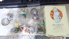 HIROCO Kaiyodo Moomin Valley Bottle Cap Figurines PART 1, 6 pcs