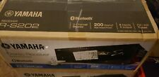 New listing Yamaha R-S202 Stereo Receiver with Bluetooth Open-Box Never Used In Perfect Cond