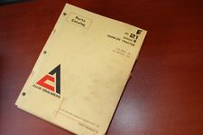 Allis Chalmers HD21 Serie B Tractor Dozer Crawler Partes Manual Catalog 21B