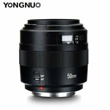 Yongnuo YN 50MM F/1.4 Standard Prime Lens Auto Focus AF MF for Canon EF Camera