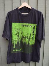 Tipo O negativo - 1998-Vintage banda Tour de T-Shirt-se adapta a L/XL De Metal