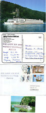 PORTUGESE CRUISER MS LADY IVY MAY A SHIPS CACHED COVER A POSTCARD & SM MAG PICTU