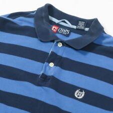 En muy buena condición Vintage Camisa Polo Chaps Ralph Lauren Rayas | Polo para hombre M | Retro Rugby