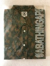 Vintage Bathing Ape Button Up New In Bag
