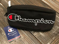 CHAMPION Prime Sling Waist Crossbody Running Beach Gym Pack All Black Colorway
