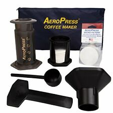 AeroPress Coffee and Espresso Maker with Tote Bag - Quickly Makes Delicious Coff