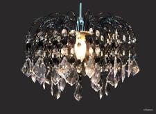 MODERN CEILING PENDANT LIGHT LAMP SHADE CHANDELIER SHADES ACRYLIC CRYSTAL DROP