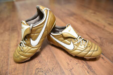 Nike Tiempo Legend Ronaldinho Air Zoom SG Football Boots Size 6 Gaucho Gold