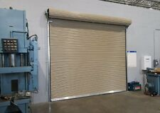 DuroSTEEL JANUS 12' X 10' 2000i Series INSULATED Commercial Roll-up Door DiRECT
