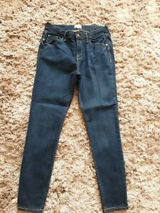 River Island Skinny Jeans, Blue, Size 12 Short