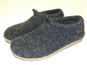 Women's Giesswein Vent Wool Slip-On Slippers / Shoes Black Size EUR 38 US 8 Nice