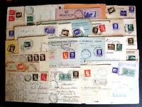 Regno Storia Postale - Floreale Imperiale -- Lotto da 80 buste del settore - 1 -