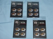 Missouri Tigers GLITTER TATTOOS New in Package!  by RICO  Set of 4 packages