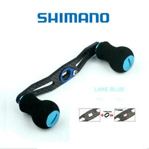 Shimano reel carbon fiber power handle EVA knob 106mm LAKE BLUE