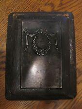 RARE< RUSSIAN > FLIP  CASE DESK ORGANIZER BOOK  30s Silver / 875