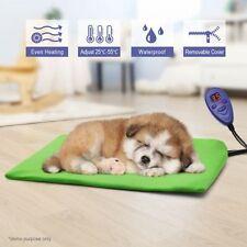 Waterproof Pet Electric Heat Pad Dog Cat Heater Mat Warmer Blanket Bed 40x30cm