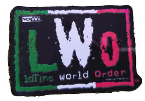 "Vintage WCW LWO Latino World Order 4x3"" Pro Wrestling Sticker 1998 WWF NWO WWE"