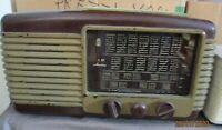 MAGNADYNE S 27 radio valvole bakelite 1950 originale buone condizioni da testare