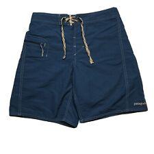 Patagonia Blue Board Shorts Swim Trunks - Mens Size 28