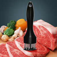 Meat Tenderizer Stainless Steel Kitchen Beefsteak Handsteak Needle