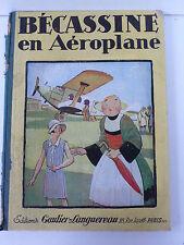 BÉCASSINE  EN AÉROPLANE  PINCHON    GAUTIER-LANGUEREAU  1930  BON ÉTAT