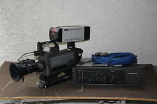 Sony BVP-150 Saticon 3 Tubes  Video Camera Package