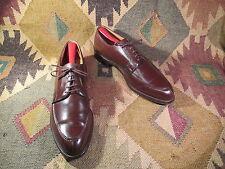 Vtg Nettleton Algonquin Brown Leather Split Toe Blucher Dress Oxfords Size 12B